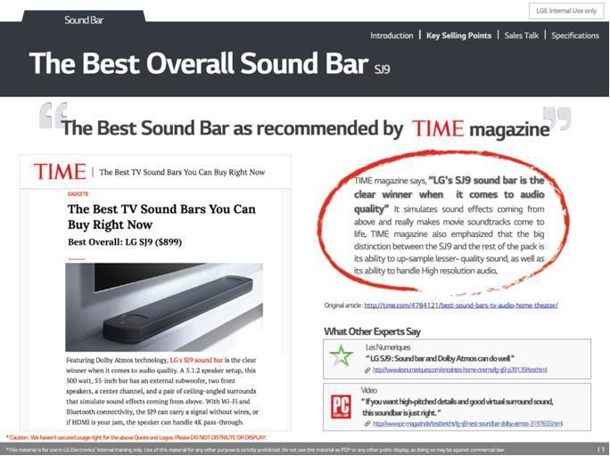 مجله تایم معرفی میکند؛ بهترین ساندبار از همه نظر