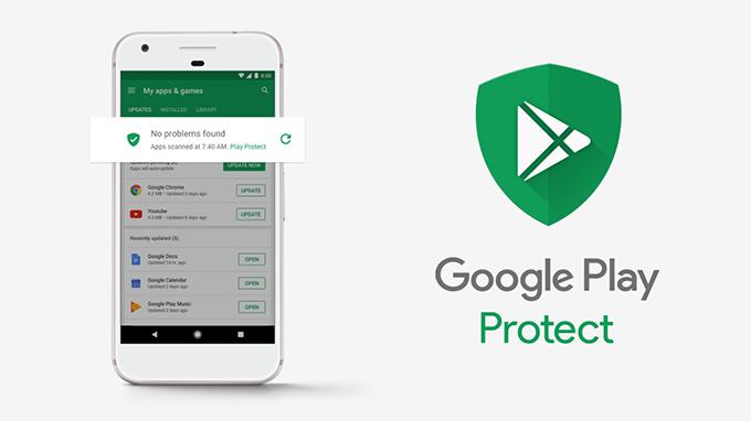 لوگوی محافظ گوگل پلی ممکن است برروی بستههای گوشیهای هوشمند قرار بگیرد!