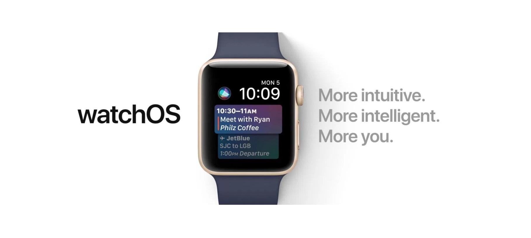 اپل نسخه پنجم بتای WatchOS 4 را برای توسعه دهندگان منتشر کرد