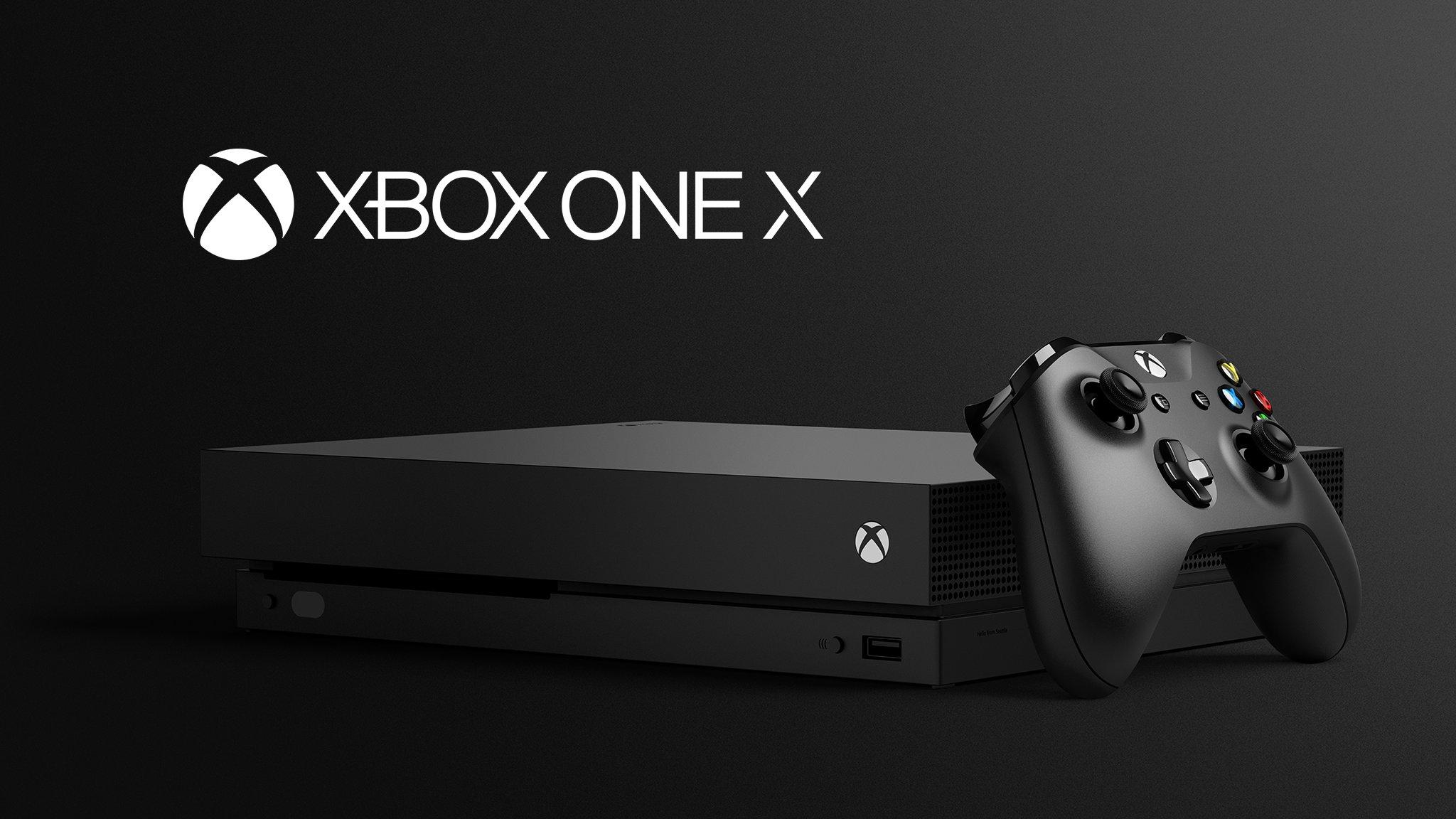 مایکروسافت پیشفروش Xbox One X را آغاز کرد