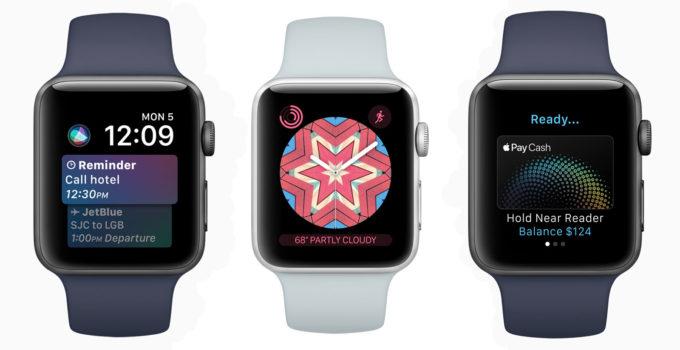 آپدیت Apple WatchOS 4 هفته آینده یعنی 28 شهریور عرضه می شود