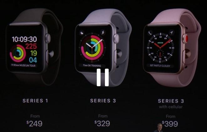 قیمت و زمان عرضه اپل واچ 3 مشخص شد