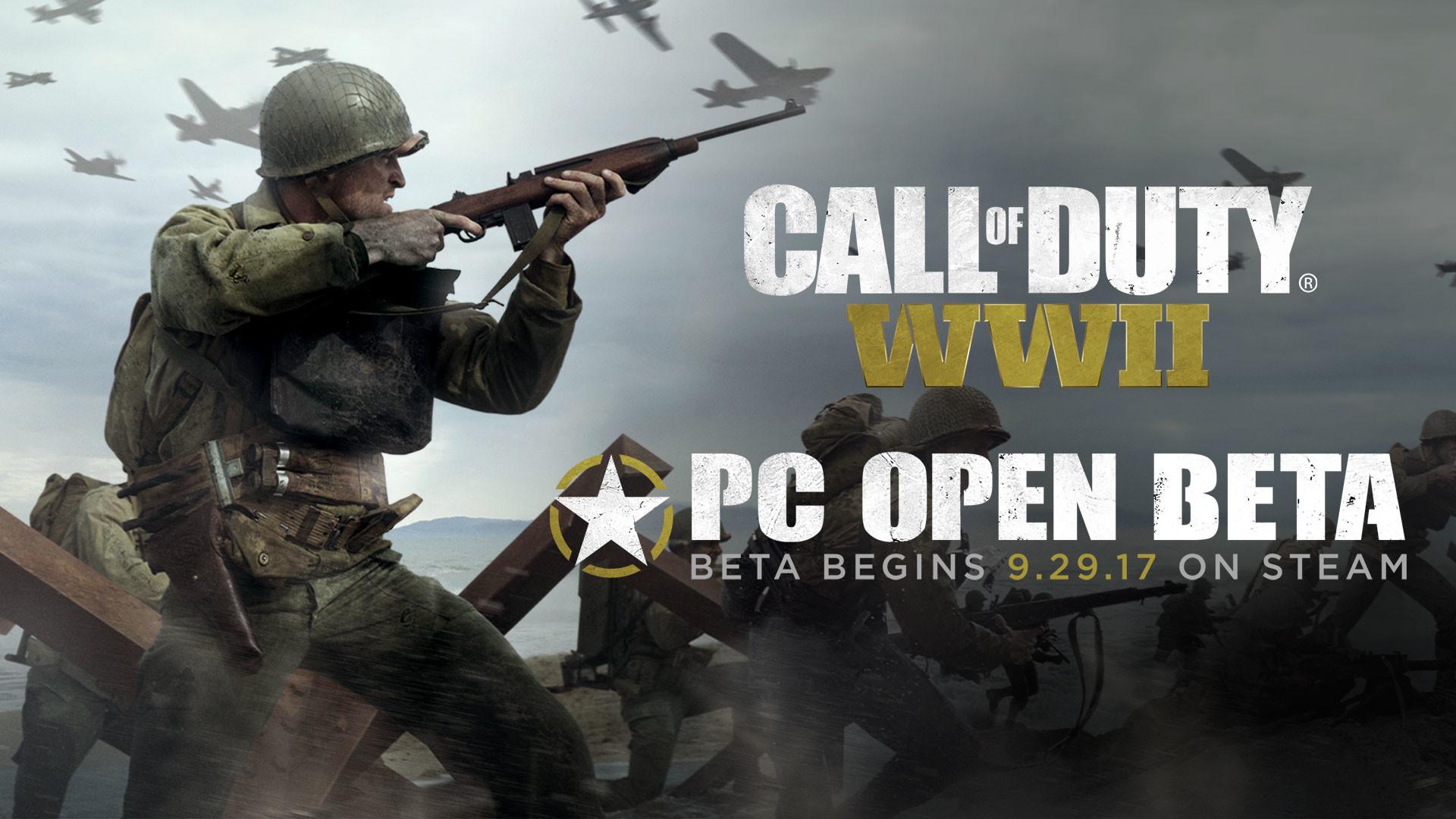 نسخه بتای Call Of Duty WWII از 29 سپتامبر منتشر خواهد شد