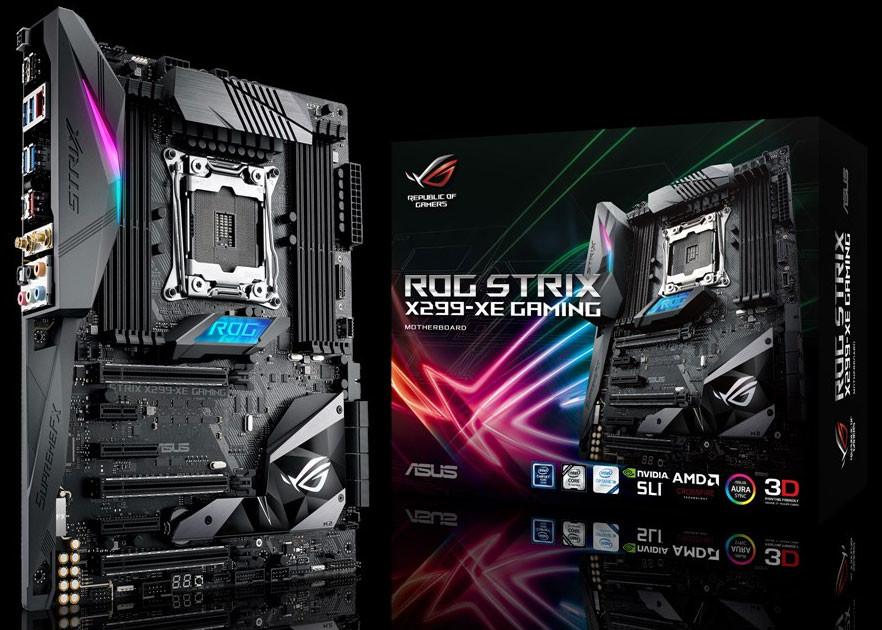 ایسوس مادربرد جدید ROG STRIX X299-XE را معرفی میکند؛ پایدار برای نبرد