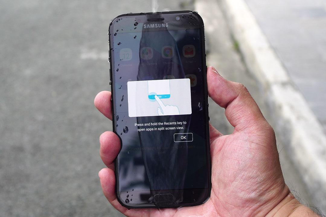 گلکسی ای 7 2017 (Galaxy A7 2017) آپدیت اندروید 7 را دریافت کرد