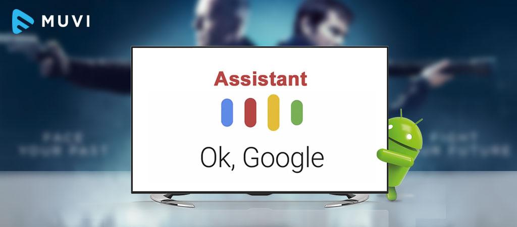 Google Assistant در Android TV در دسترس قرار گرفت