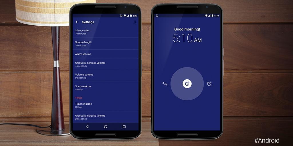 در اندروید اوریو، برنامهی Google Alarm Clock بعضی از مواقع به درستی کار نمیکند