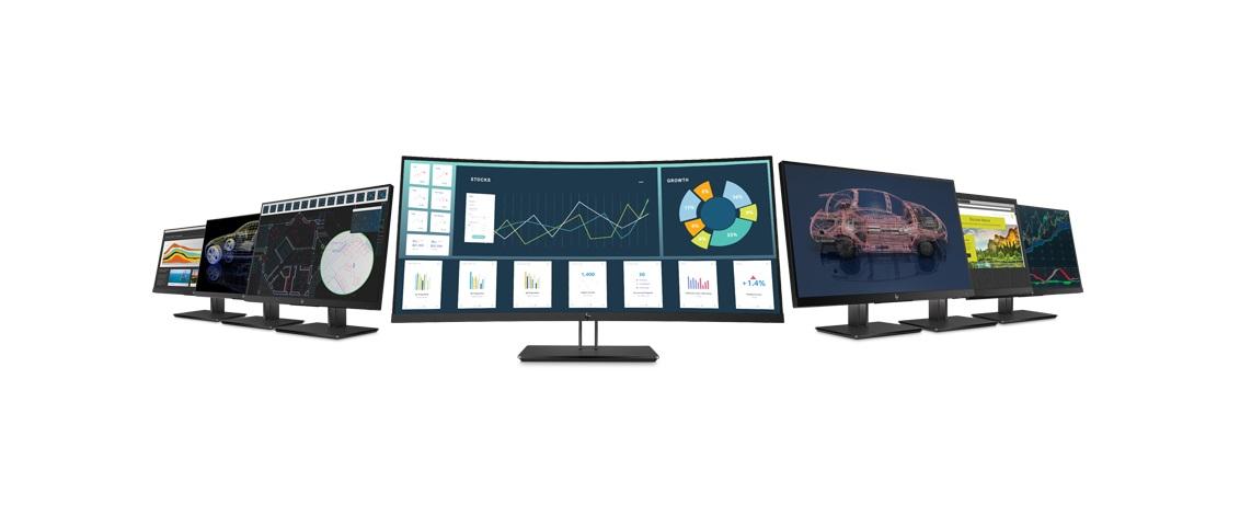 نمایشگرهای جدید سری Z کمپانی HP معرفی شدند؛ طراحیشده برای تمام مصارف!