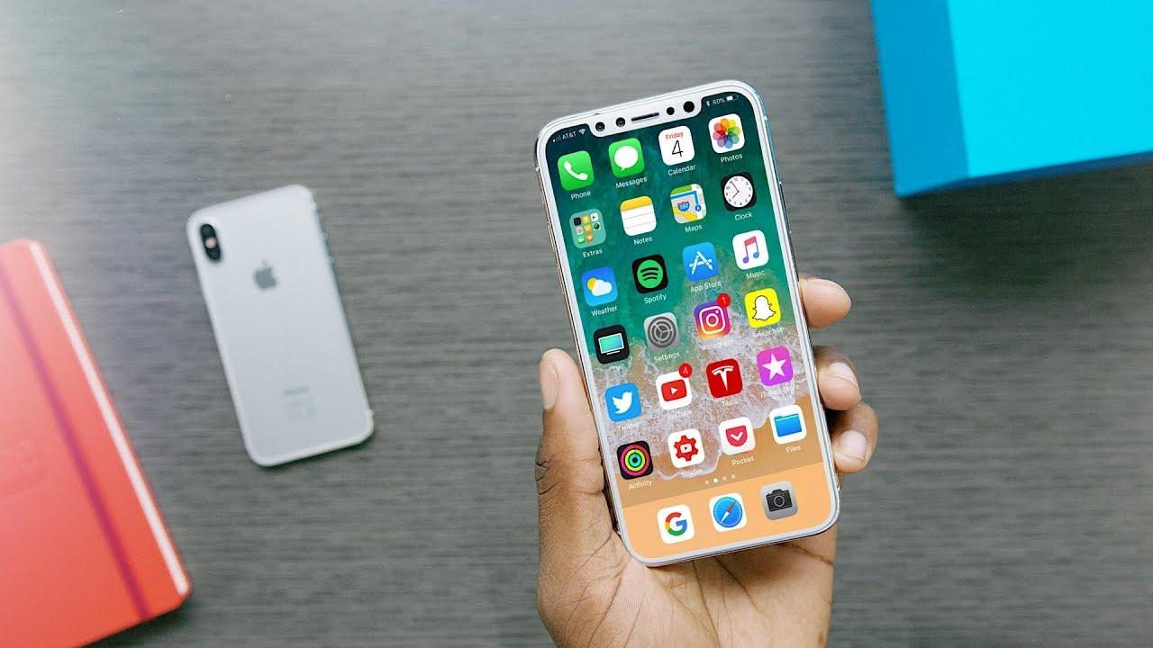 براساس شایعات منتشر شده، سنسور اثر انگشت آیفون 8 در پشت گوشی قرار داده شده است