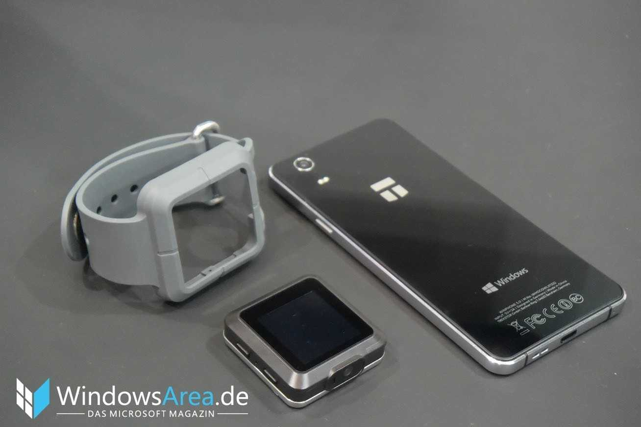 دستگاه Trekstor WinPhone 5.0 رونمایی شد: تلفنی از جنس ویندوز 10 موبایل
