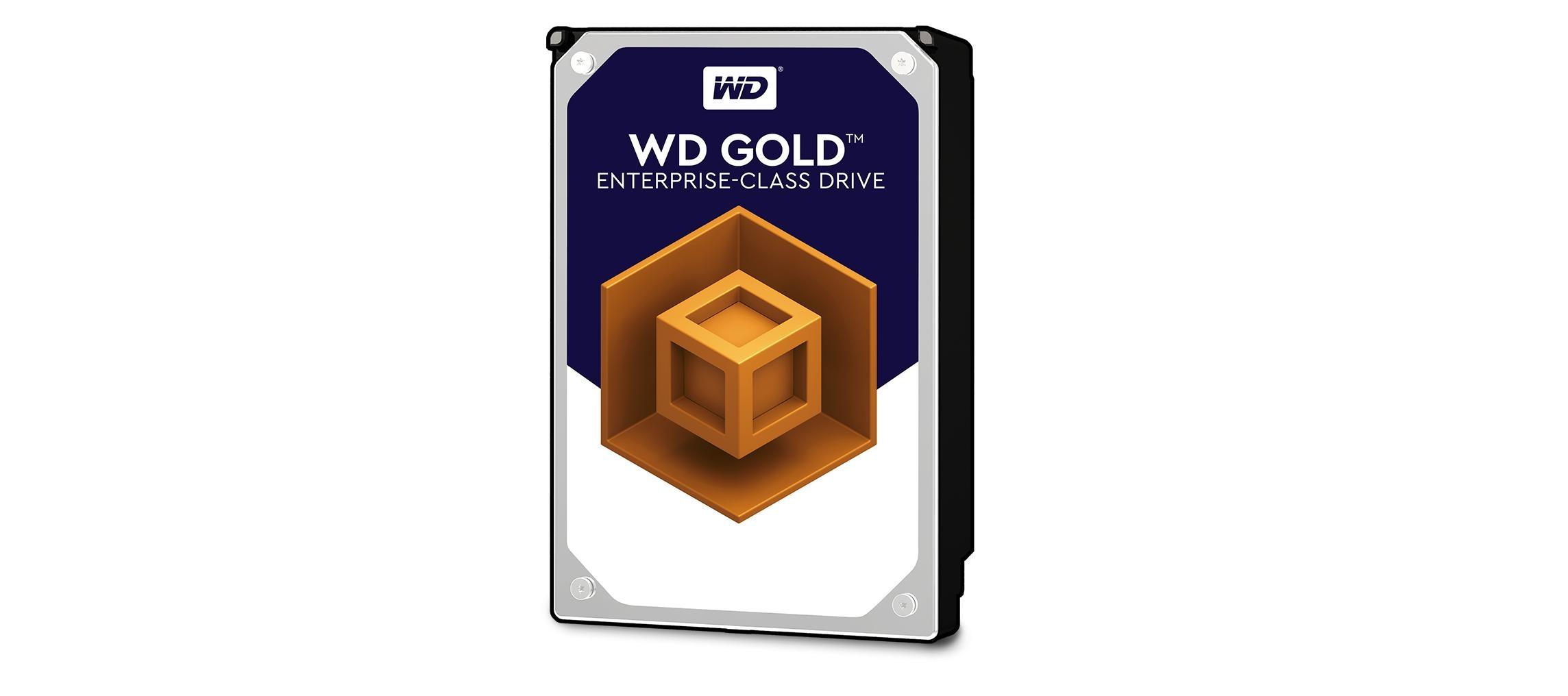 وسترن دیجیتال هارد دیسک 12 ترابایتی جدیدی از سری گلد معرفی کرد