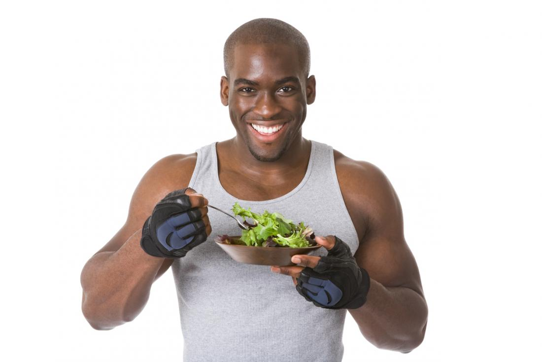 ورزش باعث تغییر رژیم غذایی آقایان میشود