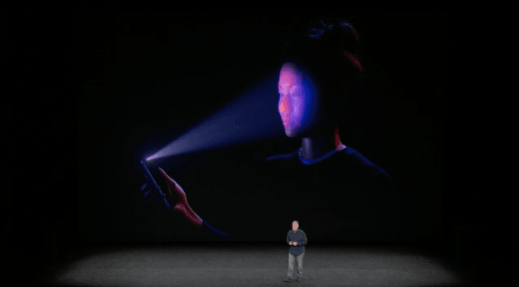 Face ID در اپل آیفون X