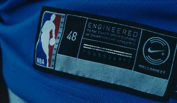 لباسهای NBA جدید نایکی، به تگهای NFC با قابلیت ارائه اطلاعات مختلفی مجهز شدهاست