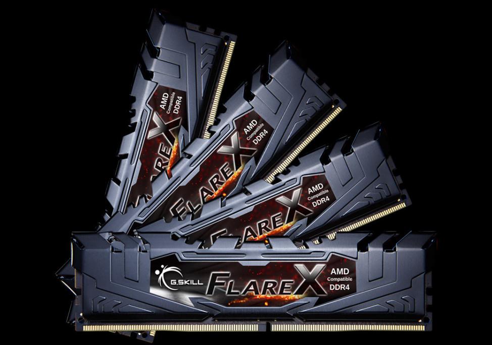شرکت G.SKILL چهار مدل حافظه رم Flare X جدید خود را معرفی کرد؛ بهینه برای ThreadRipper