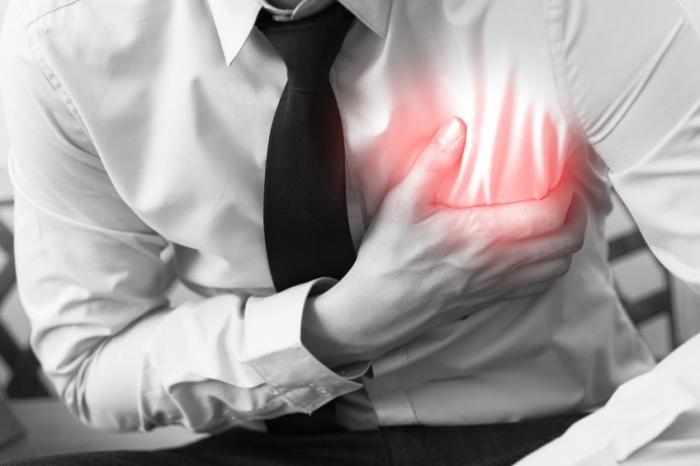 درد سینه و استرس