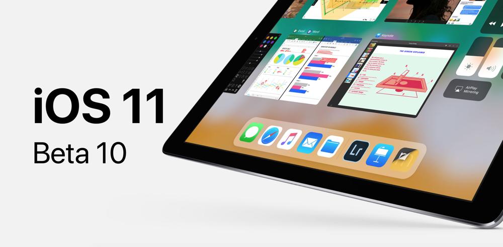 دهمین نسخهی بتای iOS 11 برای توسعهدهندگان در دسترس قرارگرفت