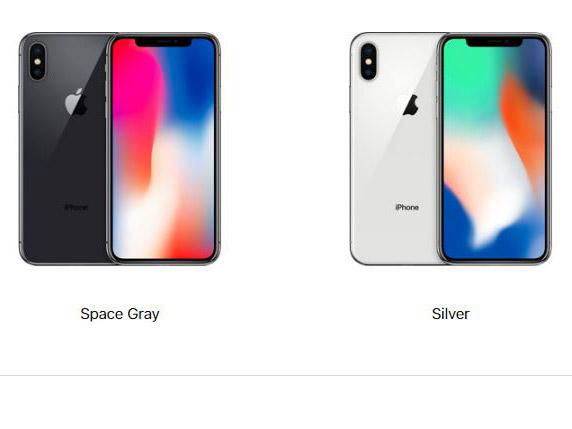 رنگ های آیفون تن (iPhone X)