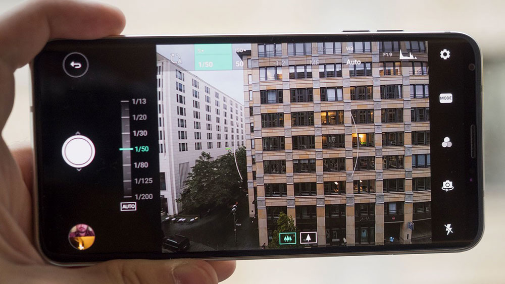اشتباه نکنید! دوربین الجی وی 30 (LG V30) با f/1.6 تجهیز شده است