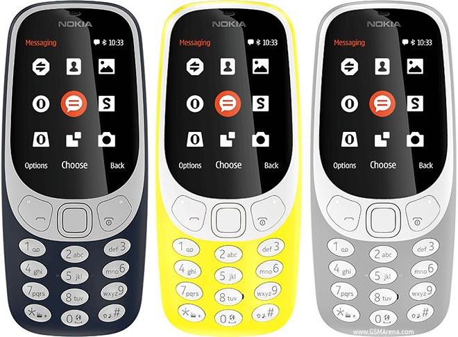 نسخهی 3G نوکیا 3310 (2017) با رابط کاربری بروز شده و تنظیمات جدید عرضه شد