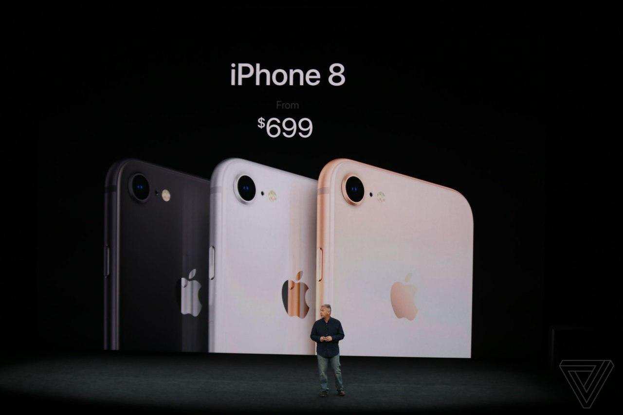 آیفون 2017: آیفون 8 (iPhone 8) به عرصهی رقابت با گوشیهای هوشمند پاگذاشت؛ بالاخره انتظارها به پایان رسید