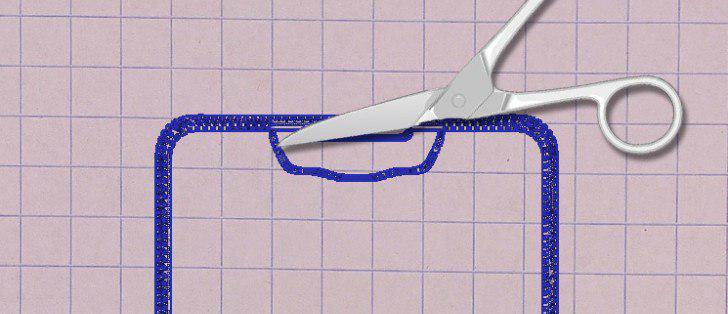 سامسونگ پتنت جدیدی را ثبت کرد؛ حاشیه کمتر و برشی برای دوربین سلفی