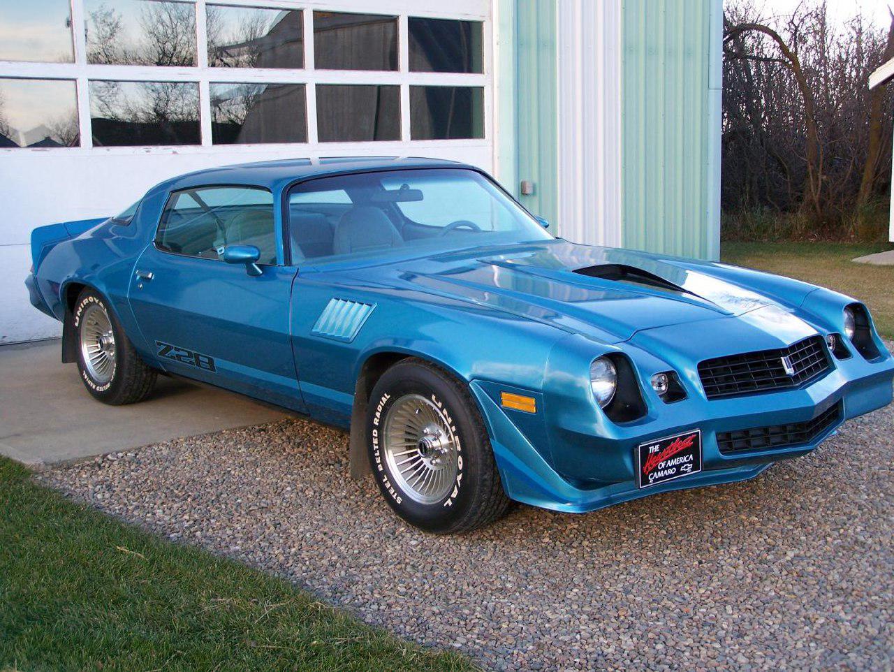 نسل دوم شورلت کامارو مدل 78