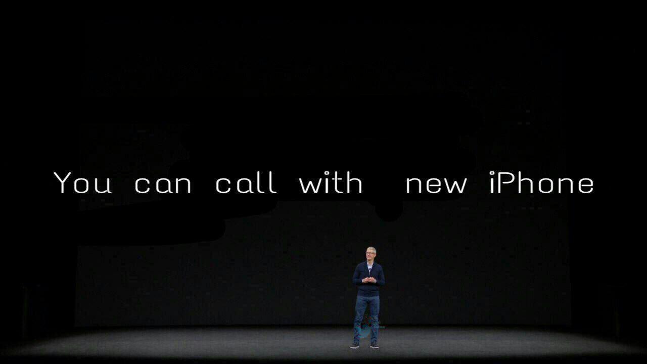 شما میتوانید با آیفون تماس بگیرید