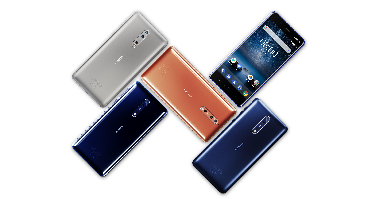نسخه 128 گیگابایتی نوکیا 8 (Nokia 8) گواهی FCC را دریافت کرد