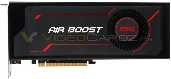 تصویر کارت گرافیک جدید MSI در مدل RX Vega 64 Air Boost به بیرون درز پیدا کرد
