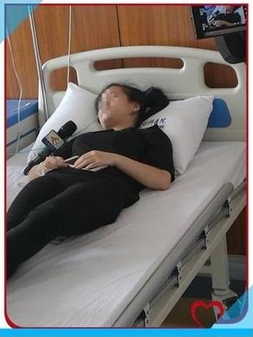 نابینایی زن 21 ساله چینی