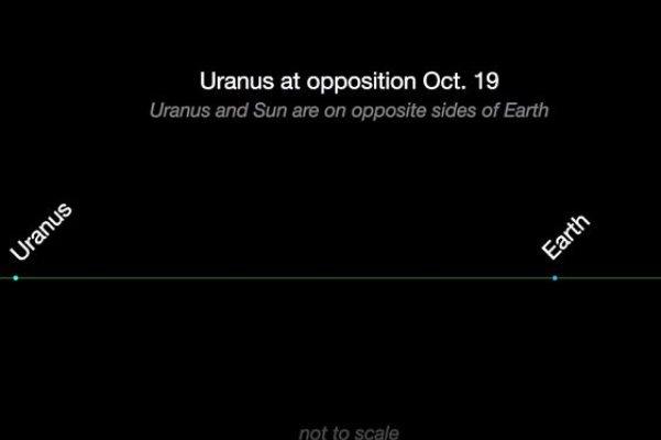 یک فرصت استثنایی ؛ اورانوس را با چشم غیر مسلح ببینید
