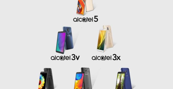 شش گوشی اندرویدی آلکاتل (Alcatel) که در سال 2018 عرضه میشوند