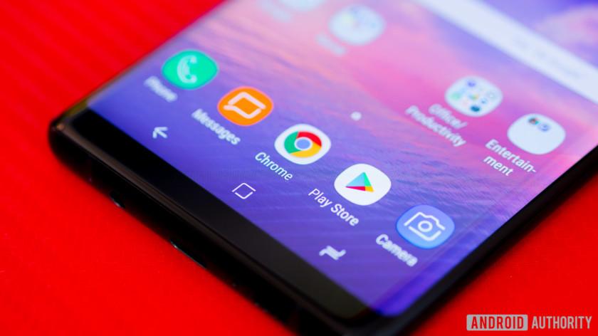 دکمههای ناوبری گلکسی نوت 8 (Galaxy Note 8 Galaxy Note 8)