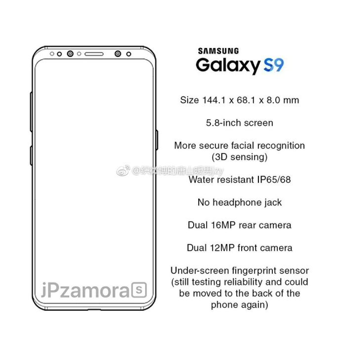 گلکسی اس 9 (Galaxy S9)
