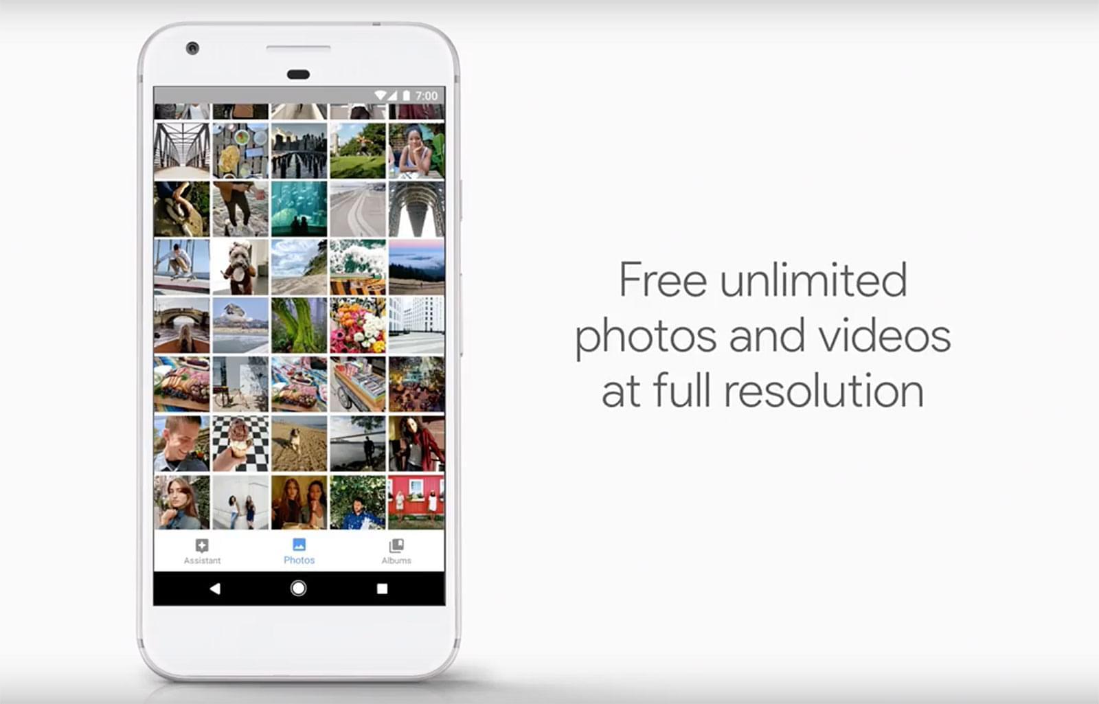 تلفنهای اصلی پیکسل حافظه ذخیره سازی نامحدود در Google Photos را همچنان خواهند داشت