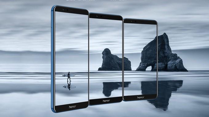 هوآوی آنر 7 ایکس ( Honor 7X ) با پردازنده کایرین 659 و دوربین دوگانه معرفی شد