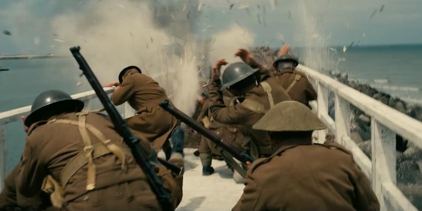 صحنهای از فیلم دانکرک