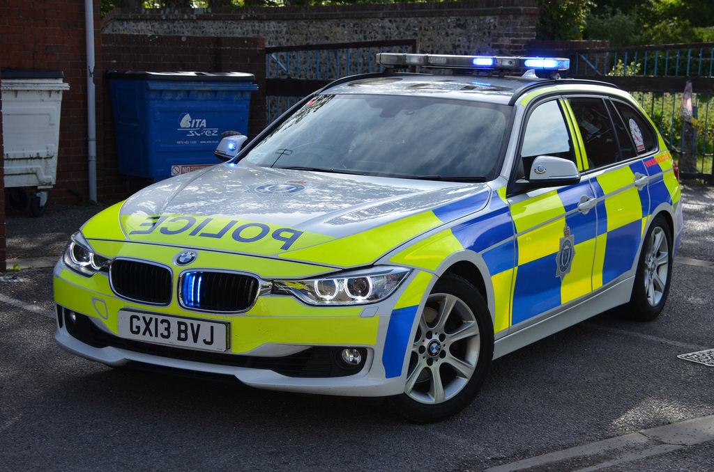 بی ام دبلیو پلیس انگلستان