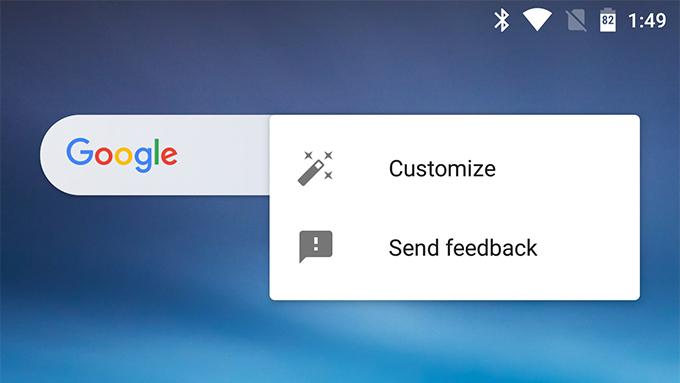 امکان شخصی سازی ویجت نوار جستجو برنامه گوگل در آخرین آپدیت، فراهم میشود