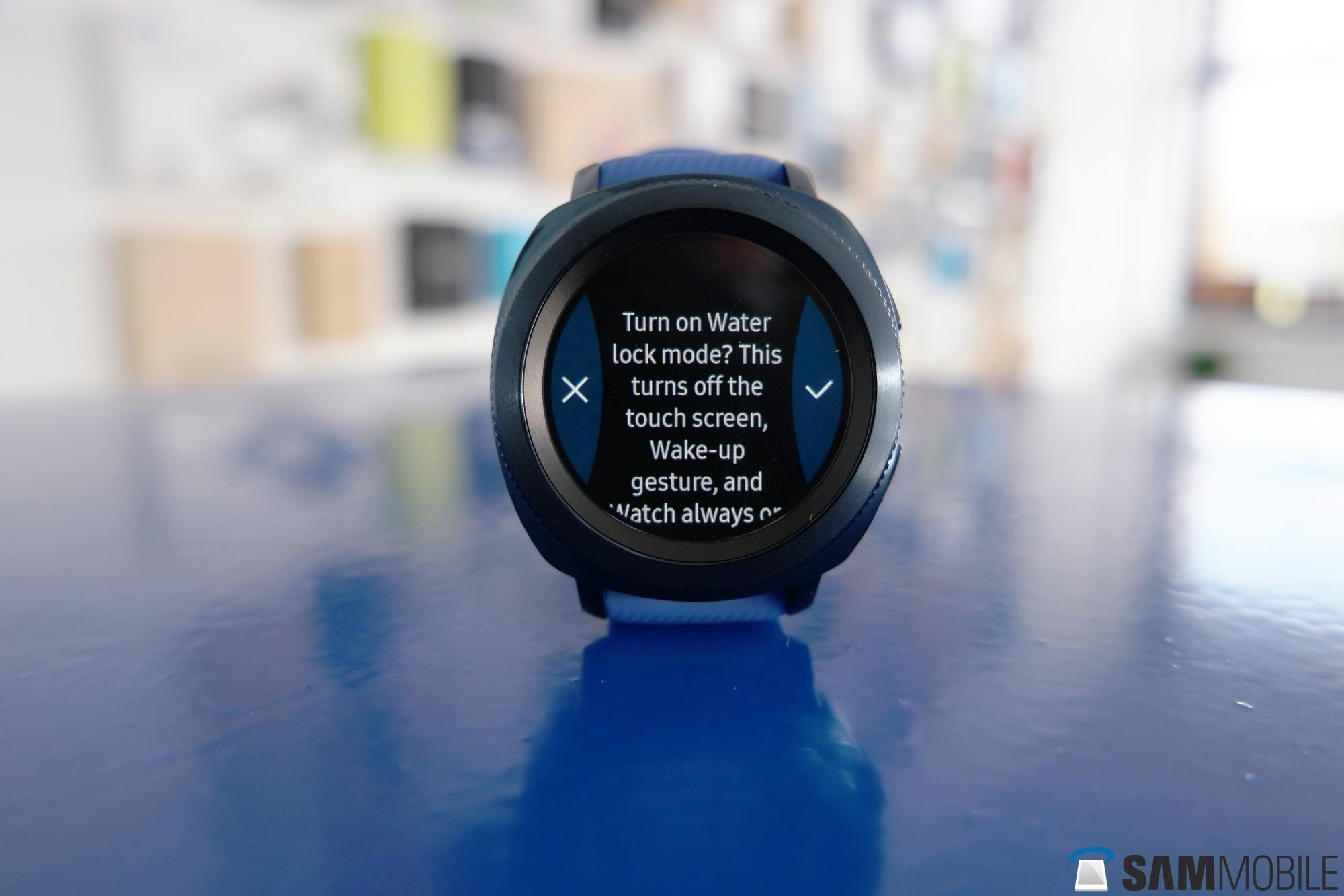 ساعت هوشمند gear sport سامسونگ