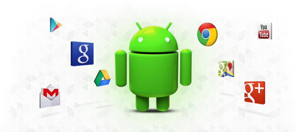برنامههای گوگل برای اندروید