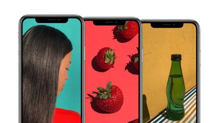 اپل آیفون ایکس طراحی صفحه نمایش