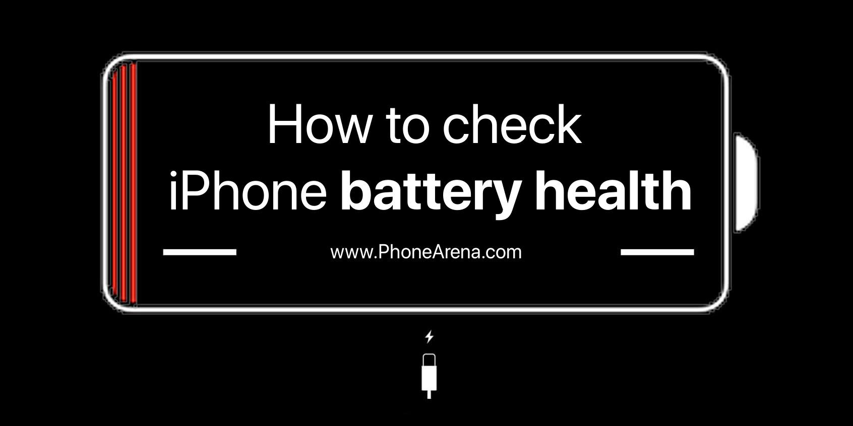 وضعیت سلامت باتری اپل آیفون