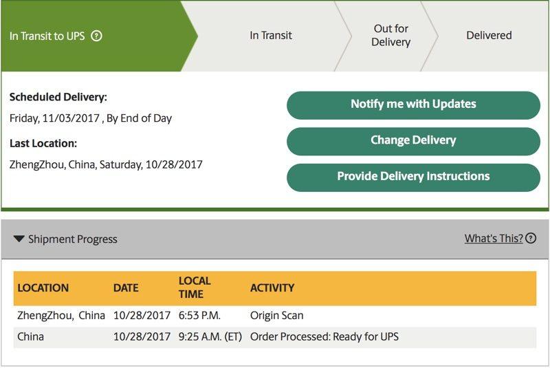 اولین سفارشات آیفون X آمادهی ارسال به مشتریان است