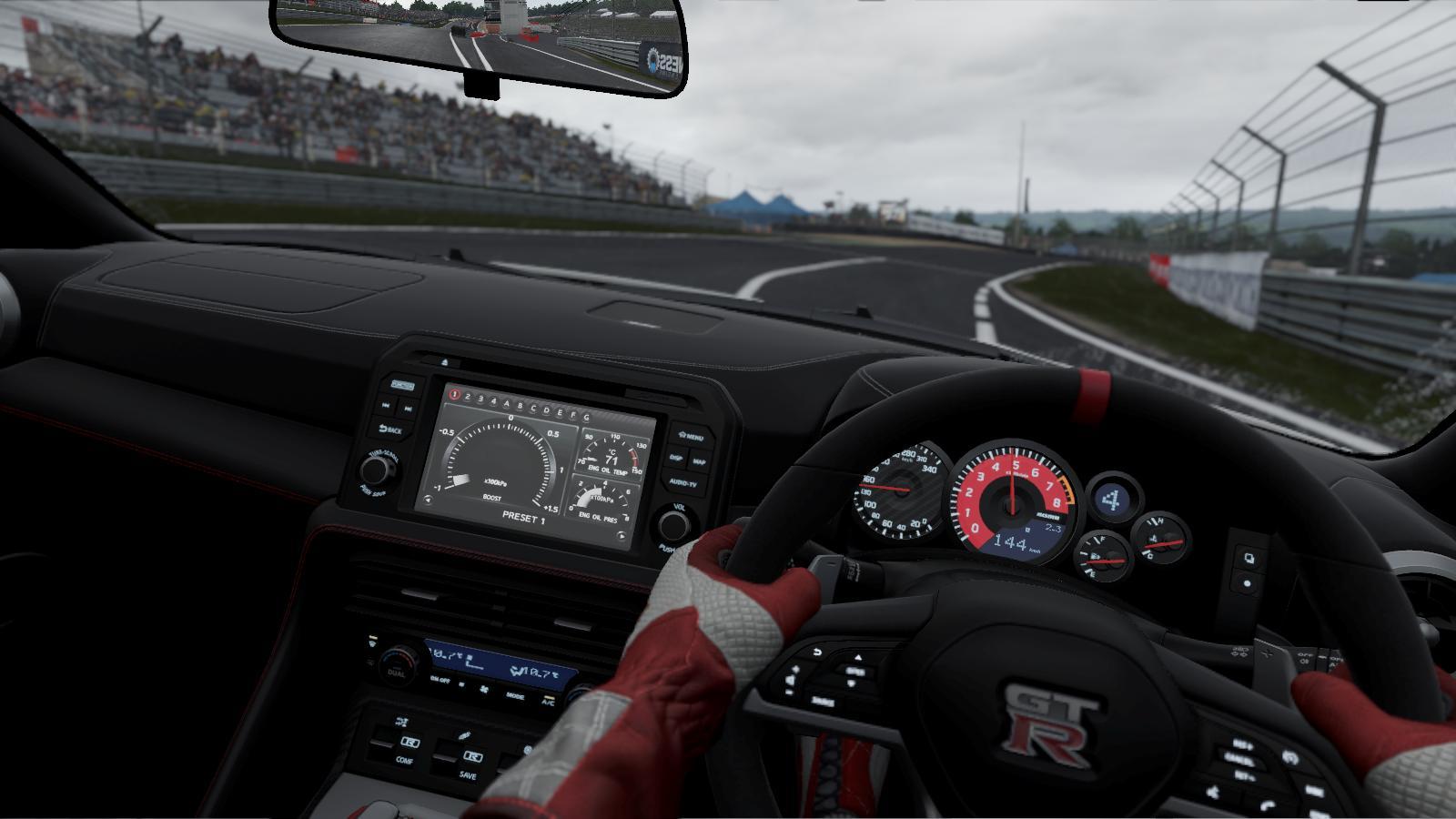 تصویری از گیمپلی بازی Project cars2