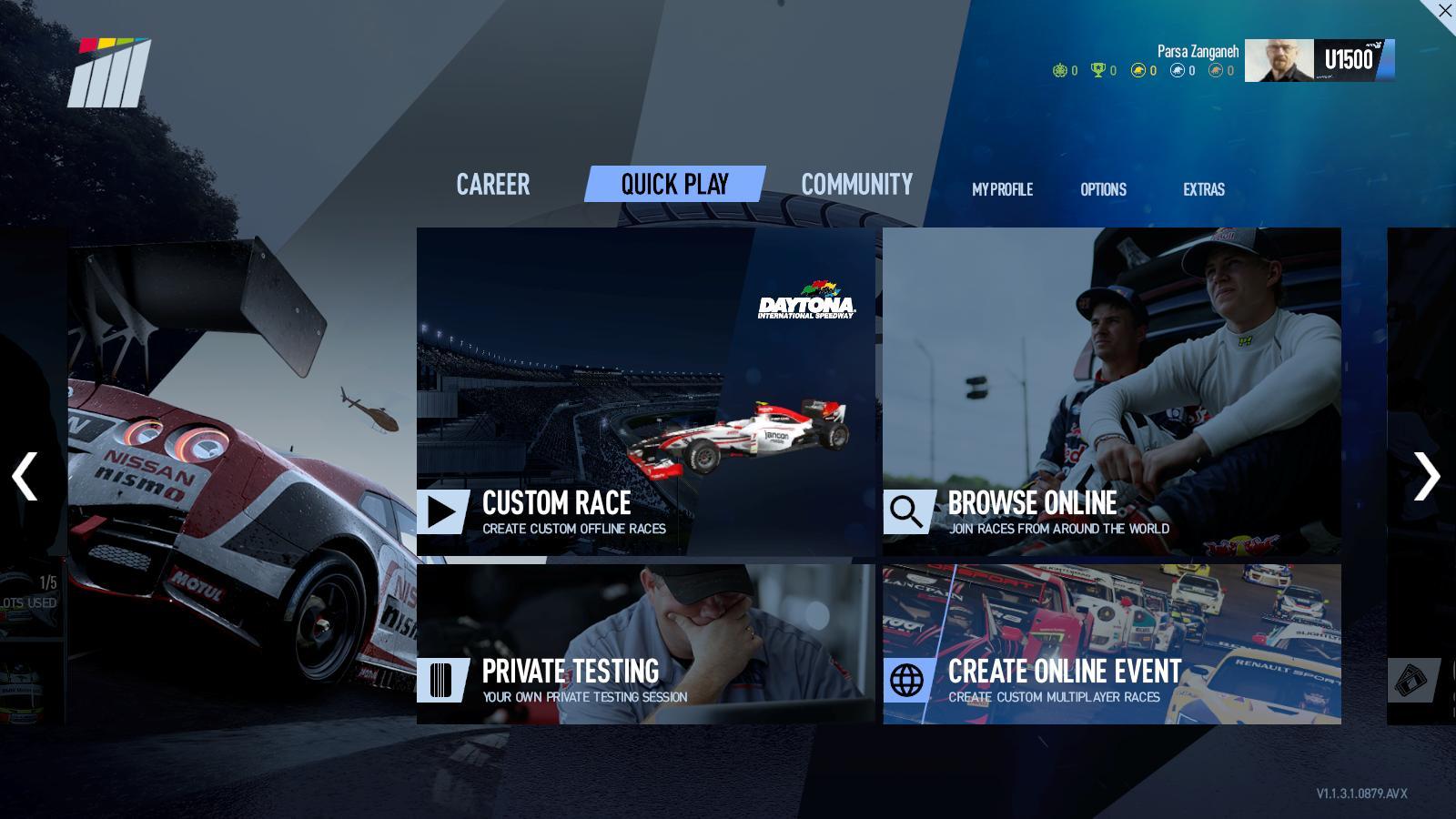 تصویری از UI بازی