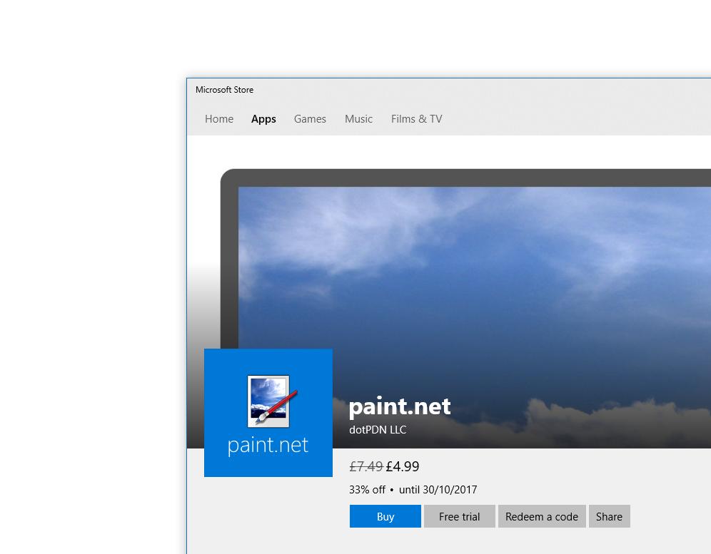 جایگزین ارزان قیمت Paint در فروشگاه مایکروسافت هم اکنون در دسترس است