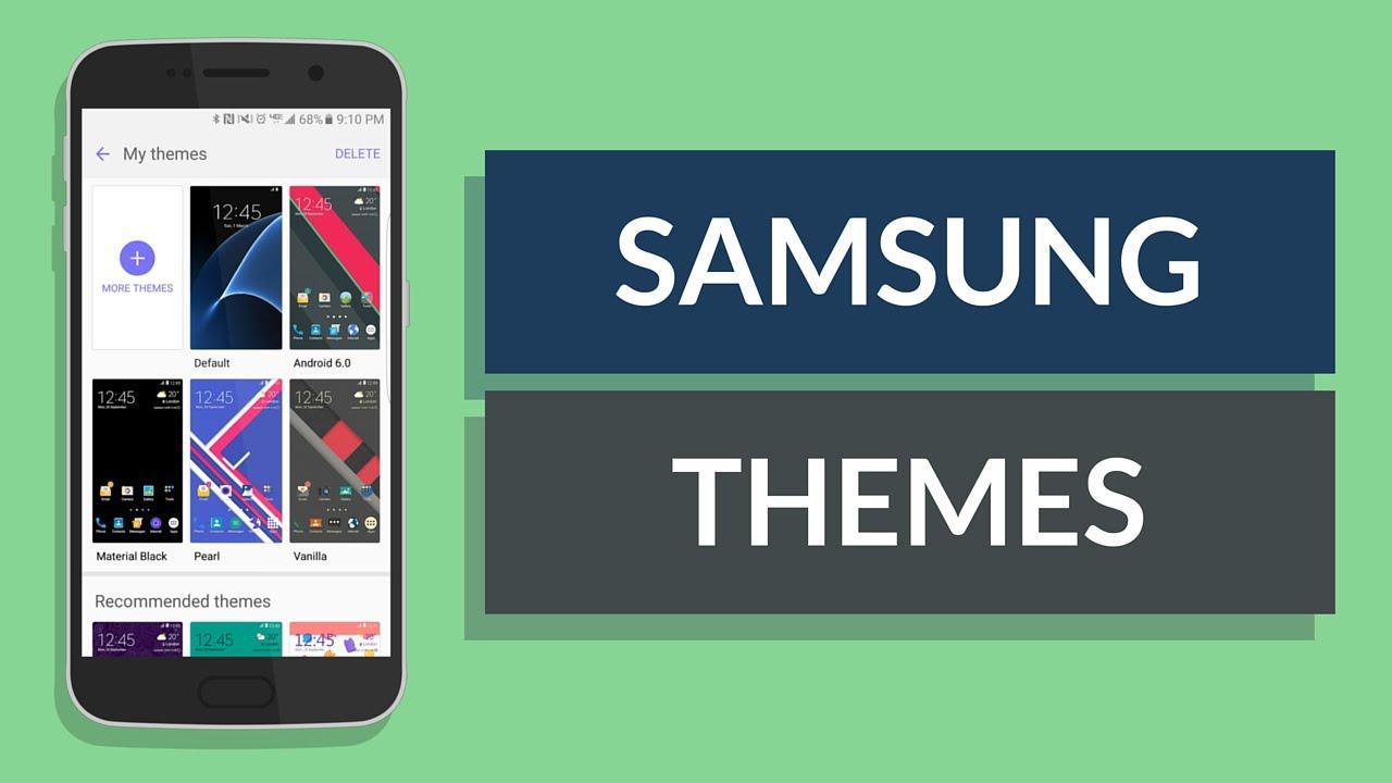 برنامه ThemeDIY؛ ساخت تمهای اختصاصی بر روی تلفنهای هوشمند سامسونگ، هم اکنون در دسترس است