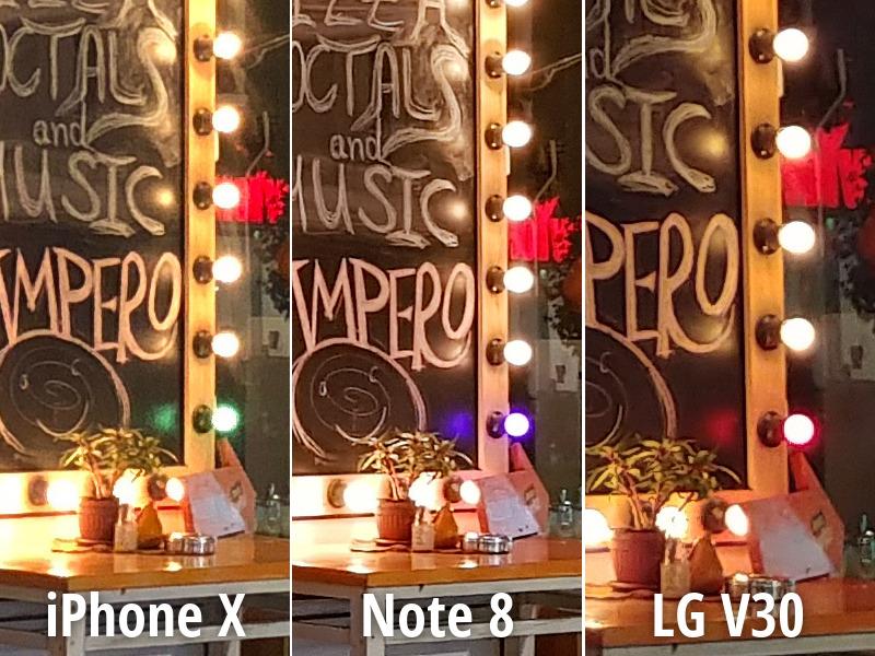 مقایسه دوربین آیفون X